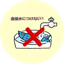 養殖魚を解凍してお刺身や寿司種など生で食べる場合