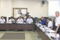 下関市立大会議室であった検討委員会