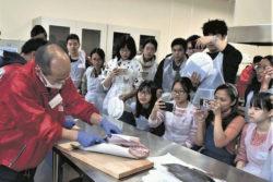 大分県漁協青年部佐伯支部が魚料理教室